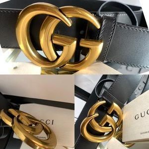 💫💫🛍🛍🔥🔥💯🔥🛍GUCCI GG Marmont leather belt .